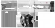Zündelektroden (KB EcoLine, HR Serie, HR Serie BE, B Serie, B TAP Serie, ELCO Haube weiß/blau) KB(20/40/45) EcoLine, HR(300/400/500) BE