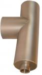 Kesselanschluss mit Kondensatablauf