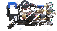 Rohrgruppe Zusatzpaket Radiatoren - Heizkreis geregelt