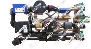 Rohrgruppe Basis inkl. Plattenwärmetauscher MH Wasserheizgerät zur Erwärmung des Frischwassers