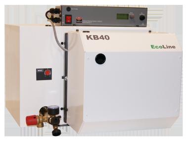 KB EcoLine komplett mit SCHEER-Blaubrenner Blue efficiency® inkl. Plattenwärmetauscher