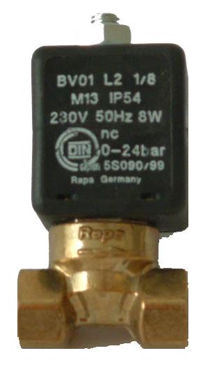 Magnetventil Rapa komplett 230 V