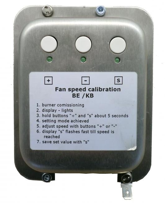 Gebläse-Regelplatine SCHEER (KB EcoLine) komplett mit Gehäuse und Verbindungskabel | Neu ab Juli/2019 KB20 EcoLine
